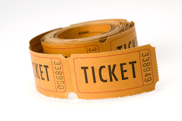 picture of raffle ticket roll