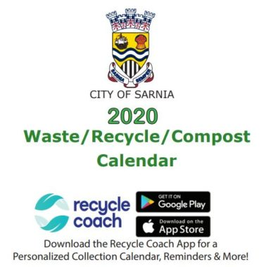 2020 Waste-Recycle-Compost Calendar